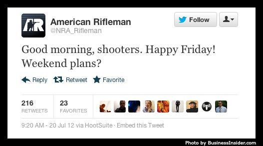 American Rifleman tweet