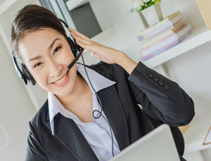 female virtual assistant