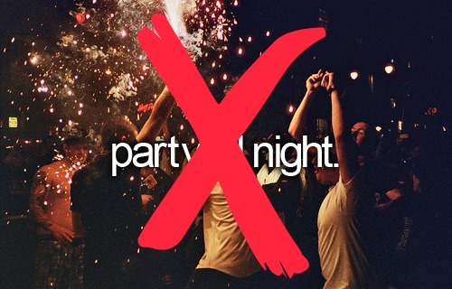 party all night