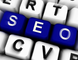 letters in a keyboard forming SEO