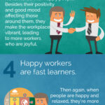 Top Reasons Workplace Happiness Is the Best Productivity Booster [Infographic]