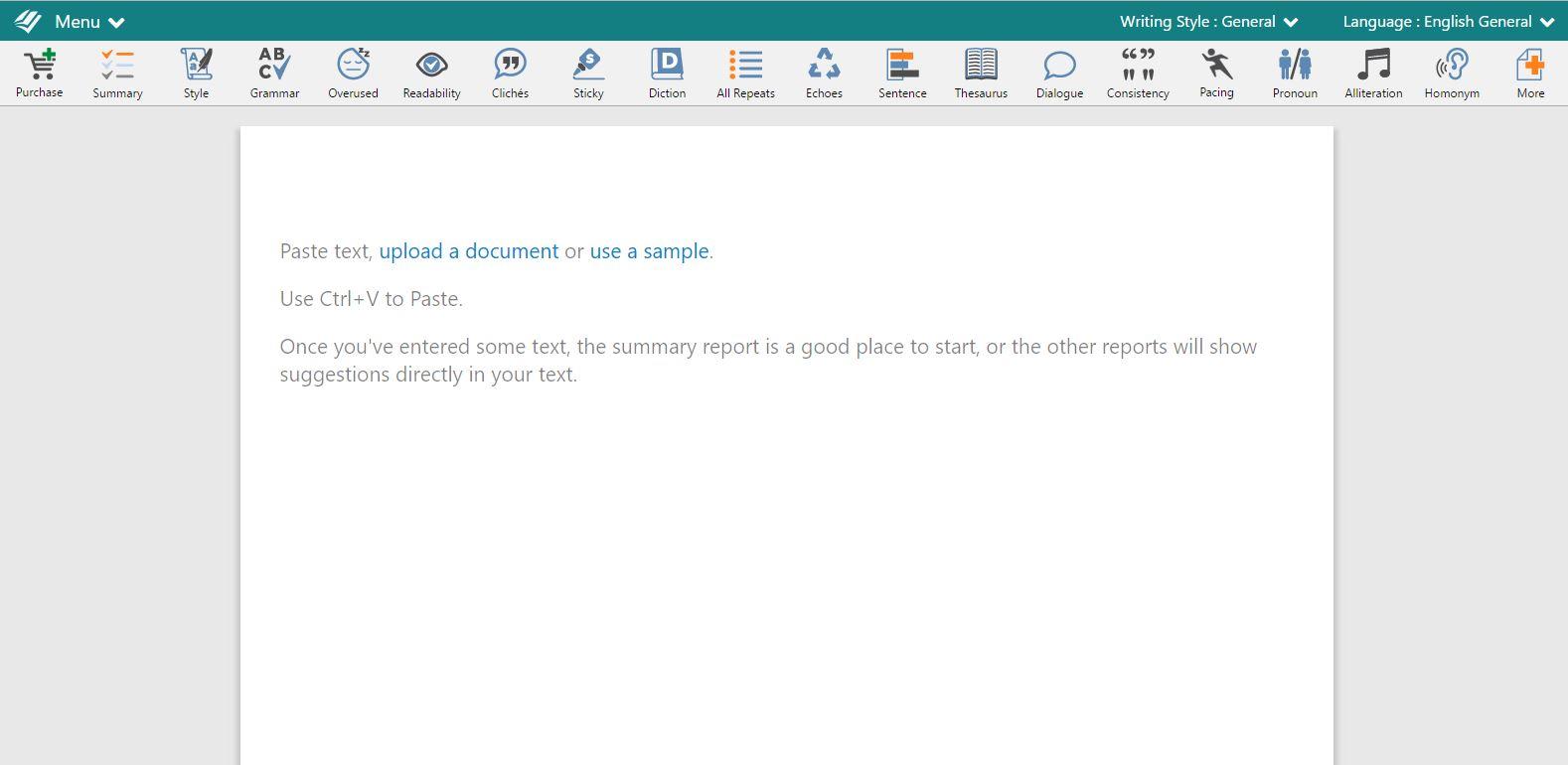 ProWritingAid Free Editing Tool