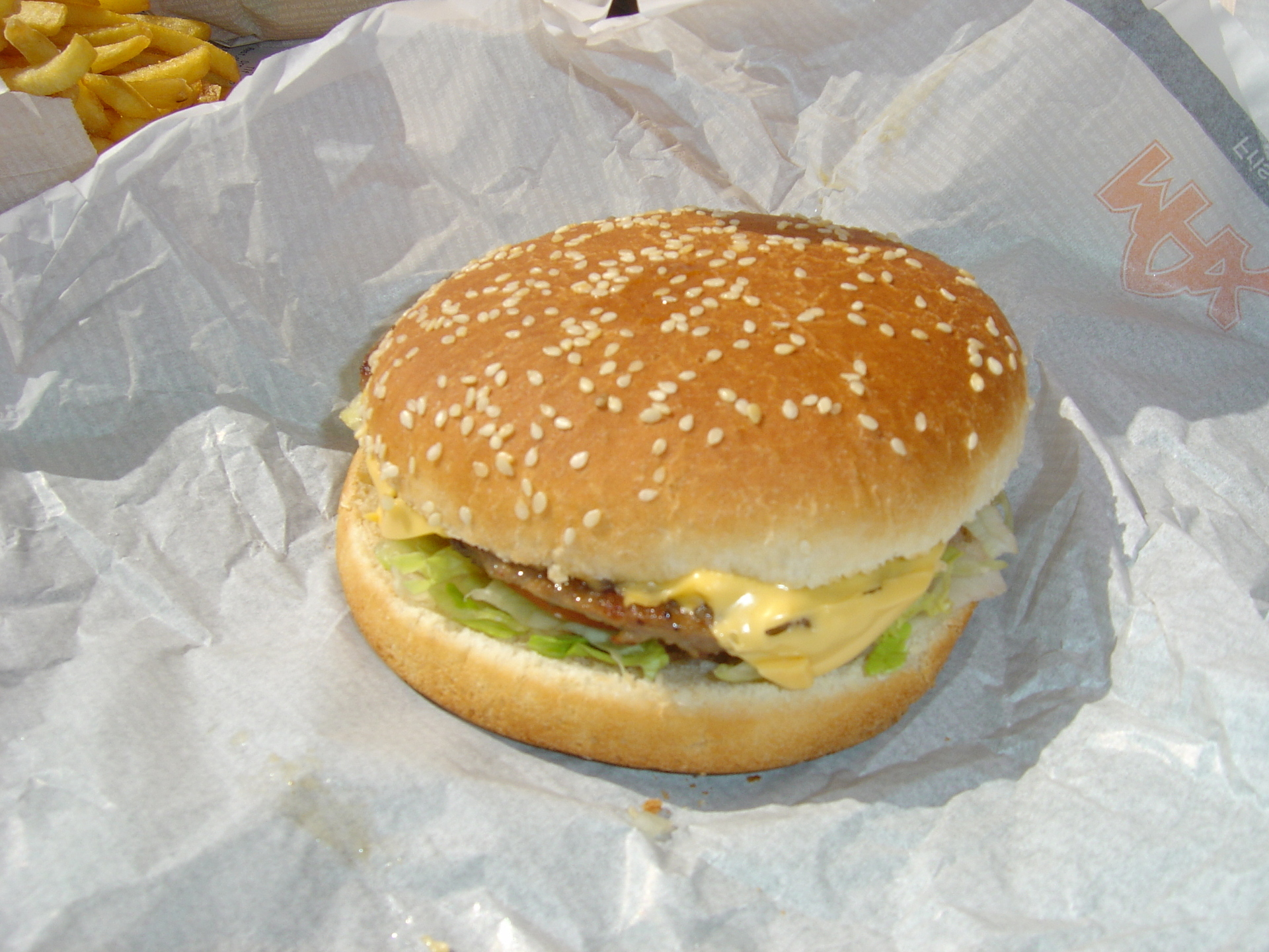plain boring burger