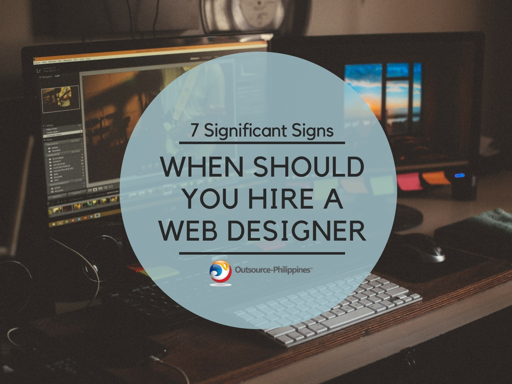 When should you hire a web designer