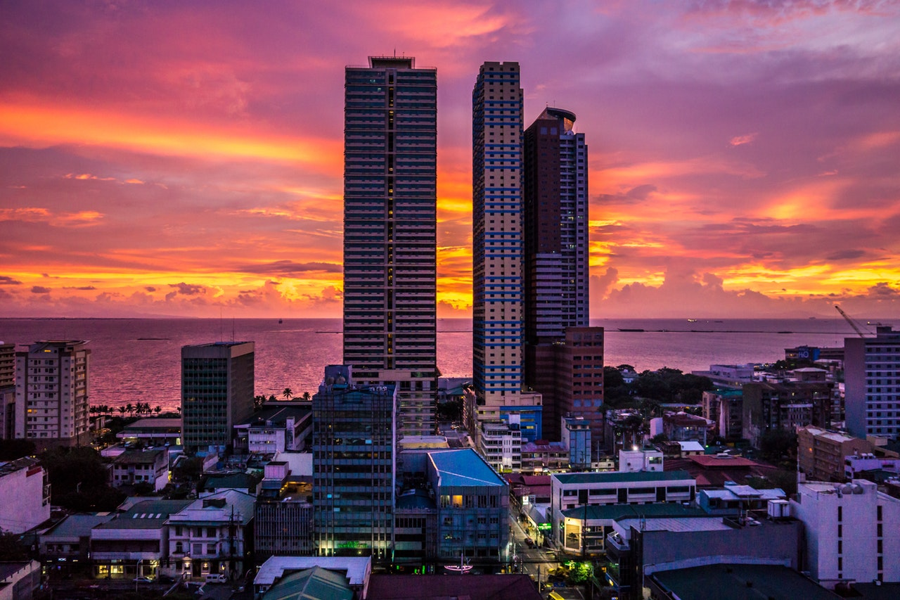 high rise buildings and outsourcing company in the philippines - philippine economy