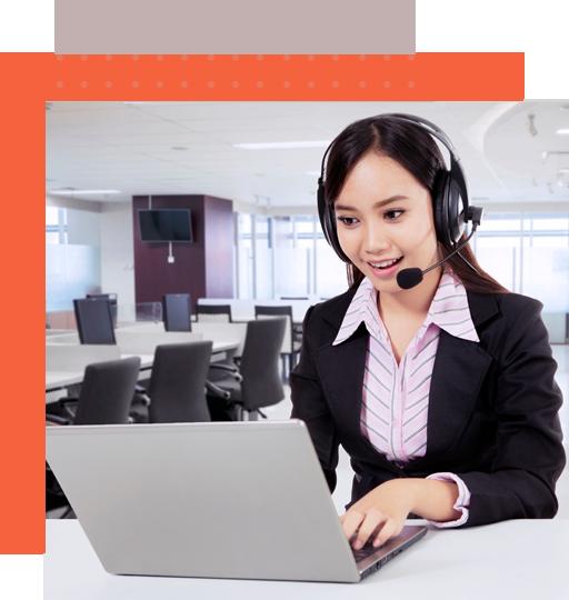 Filipino dispatcher services representative