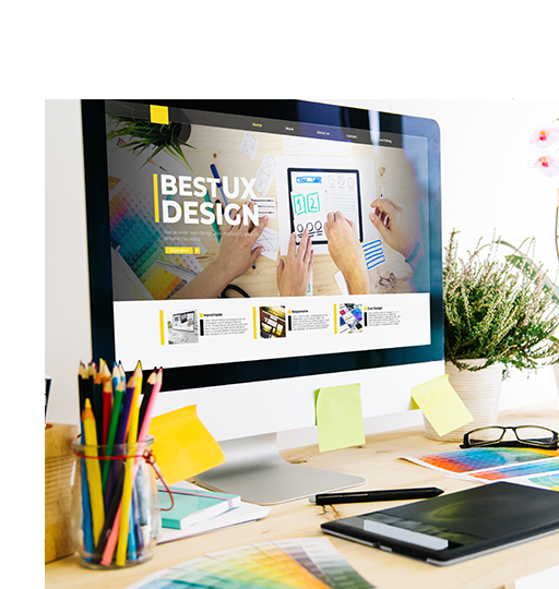 prime-email-newsletter-template-designer-services-on-monitor