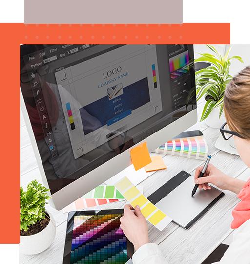 A professional providing prime logo designer services